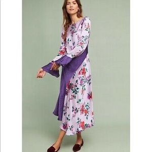 Anthropologie Ghost Purple Carly